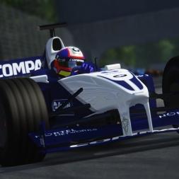 Assetto Corsa Graphics mod - F1 2001 - Monza Race 2k 60 fps