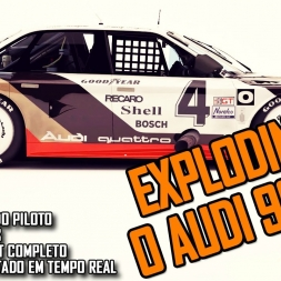 iRacing: Audi 90 GTO | Blowing the engine :(