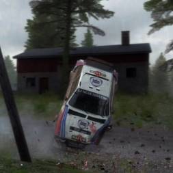 "DIRT RALLY-Ultimo teste ""RFPE Project 0.2"" Lancia Delta S4 Group B (PT)"