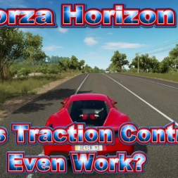 Forza Horizon 3: Does traction control even work?
