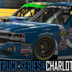 iRacing : Nascar truck Series @ Charlotte