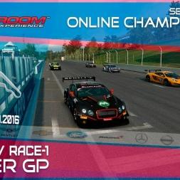 RaceRoom | GTR3/S1: Online Championship`16 (R5/Race-1 Zolder GP)