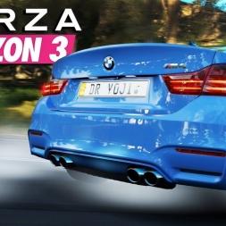 Forza Horizon 3 - Bmw M4 - Cinematic 4k