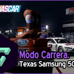 NASCAR 15 | MODO CARRERA | 08 - TEXAS SAMSUNG MOBILE 500 | GAMEPLAY ESPAÑOL HD .