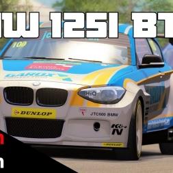 BTCC mod for Assetto Corsa - BMW 125i M Sport  @ Silverstone International