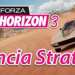 Forza Horizon 3 - Lancia Stratos Rally Car - Build Setup Test - Controller [4K]