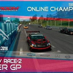 RaceRoom | GTR3/S1: Online Championship`16 (R5/Race-2 Zolder GP)