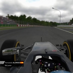 F1 2016 Alonso Onboard Suzuka