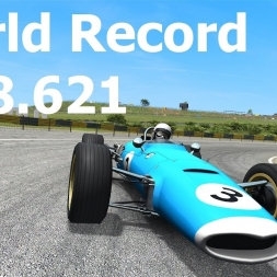 (Setup included) World Record - Formula Vintage V12 at Historic Interlagos (Onboard)