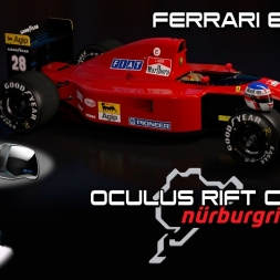 Oculus Rift Cv1 - Nordschleife - Ferrari 643 - Assetto Corsa
