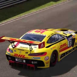 AMG GT3 DHL Nordschleife driving