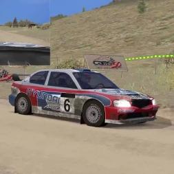 Richard Burns Rally- Hyundai Accent lc Nice Car to drive in Australia