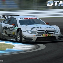 DTM EXPERIENCE [Mercedes AMG C Coupe - Test drive at Hockenheimring] [PC GamePlay]