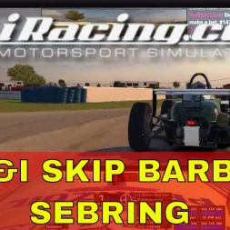 iRacing UK&I Skip Barber League race Round 4 from Sebring
