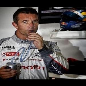 "Sébastien Loeb on ""ECSTASY"" :o), in his Lancia Fulvia HF, on a Swedish Night!"