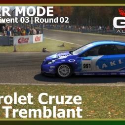 Grid Autosport - Career Mode 11 - Mont Tremblant - Chevrolet Cruze