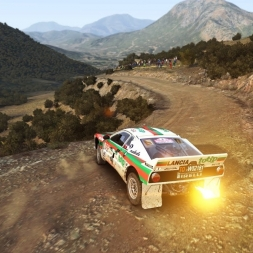 "DIRT RALLY-RUN WITH THE BEAST ""Lancia 037""(explanations to a friend) PT/BR"