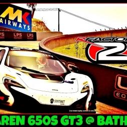rFactor 2 | McLaren 650S GT3 @ Bathurst | GT3 World Series MOD | Onboard