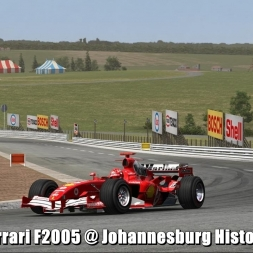 Ferrari F2005 @ Johannesburg Historic - Automobilista 60FPS