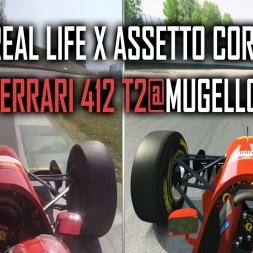 Assetto Corsa X Real Life : Ferrari 412 T2 @ Mugello