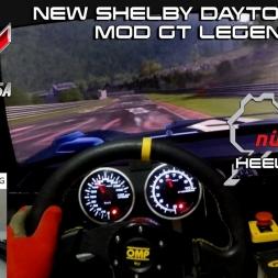 HEEL & TOE - New Shelby 1964 @ Nordschleife - Mods GT Legends Assetto Corsa