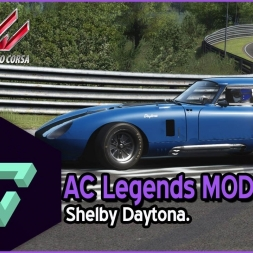 ASSETTO CORSA | AC LEGENDS MOD | SHELBY COBRA DAYTONA | - ESPAÑOL HD -