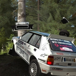 DIRT RALLY-Dancing On Ice In Mónaco(lancia Delta Integrale)