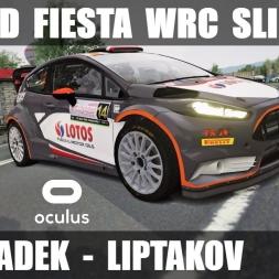 Fiesta WRC SLIPPING & SLIDING @ SS. Hradek