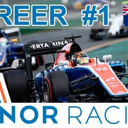 F1 2016 | Manor Career #1 - A strong start?