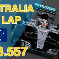 F1 2016 | Australia Time Trial Dry (PC) - 1:23.557