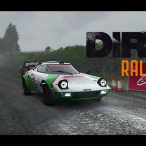 DiRT Rally - Pant Mawr - Lancia Stratos - 02:52.843