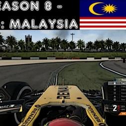 F1 2016 - F1XL Season 8 - Race 5: Malaysia