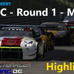 RedShiftRacing - RDGTC Round 1 - Monza - Highlights [1080/60]