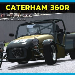 Automobilista Beta - Caterham 360R at Brands Hatch (PT-BR)