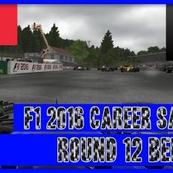 F1 2016 Career Mode Sauber - Round 12 Belgium A Slippy Recover