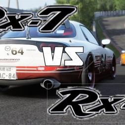 RX7 vs RX7 Nordschleife touge - Assetto Corsa