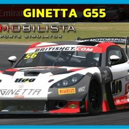 Automobilista - Ginetta G55 GT3 at Silverstone (PT-BR)