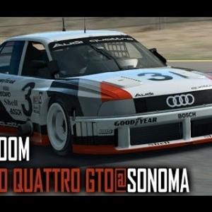 Raceroom : Audi 90 Quattro GTO @ Sonoma