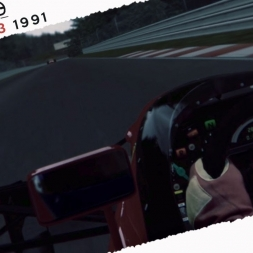 Assetto Corsa Alain Prost Vs Riccardo Patrese Real Onboard Cam AT Spa