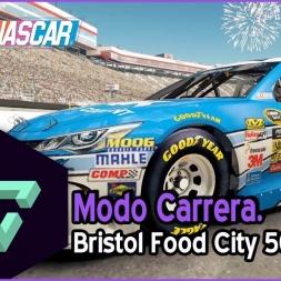 NASCAR 15 | MODO CARRERA | 09 - BRISTOL FOOD CITY 500 | GAMEPLAY ESPAÑOL HD .