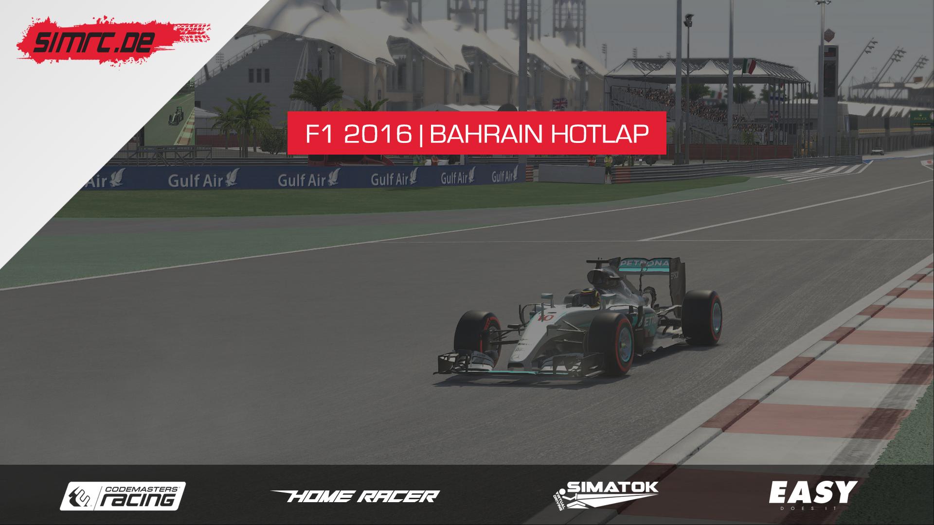 F1 2016 | Bahrain Hotlap | 1:30,696 | HD