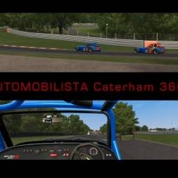 AUTOMOBILISTA CATERHAM 360R at OULTON PARK