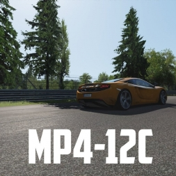 Assetto Corsa: MP4-12c at the Nordschleife