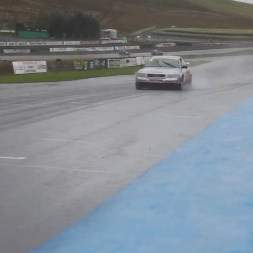 Audi A4 BTCC Pure Sound - Keith Butcher @ Knockhill from pit wall!