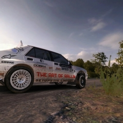 DIRT RALLY- preparation for the monthly event (Lancia Delta Integrale)