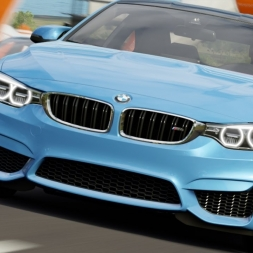 Forza Horizon 3 - Bmw M4 Race 2 60 fps 2k