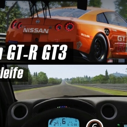 Assetto Corsa - Nordschleife - Nissan GT-R GT3 [6:39.153] - ACC Ring Rank