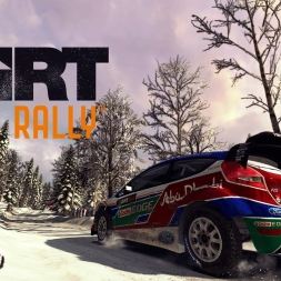 DiRT Rally - Skogsrallyt - Ford Fiesta WRC - 02:54.909