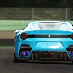 Assetto Corsa 1.8.1(Ferrari F12 TDF  AC 1.8.1)