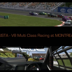 AUTOMOBILISTA V8 Multi Class Racing at MONTREAL HISTORIC